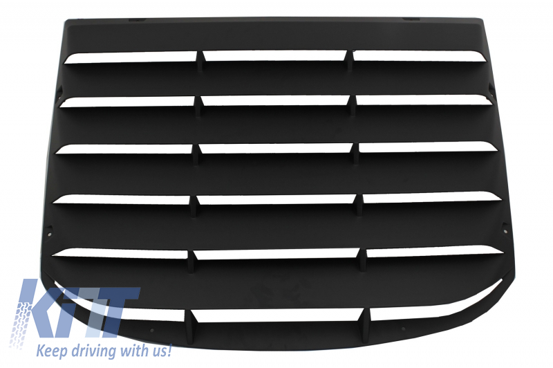 Taka Window Louvers Ford Mustang Mk6 VI Sixth Generation (2015-